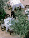 The Helios Terrace Restaurant at the Anassa Hotel