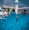 Avanti Hotel indoor swimming pool, click to enlarge this photograph