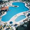 The Swimming pool at the Avanti Hotel in Paphos, click to enlarge this photograph