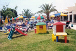 Childrens Play Area at the Avlida Hotel in Paphos. Click to enlarge photograph