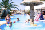 Childrens Pool at the Avlida Hotel in Paphos. Click to enlarge photograph
