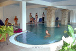 Indoor Swimming Pool at the Avlida Hotel in Paphos. Click to enlarge photograph