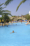 Avlida Hotel Swimming Pool in Paphos. Click to enlarge photograph