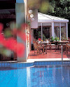 The Pool Cafe at the Chrielka Hotel Apartments in Limassol