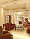 The Curium Palace Hotel Sitting Area. Click to enlarge this photograph