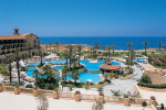 The main swimming pool at the Elysium Beach Hotel Paphos, click to enlarge this photograph