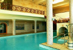 Le Meridien Indoor Sea Water Swimming Pool. Click to enlarge this photograph