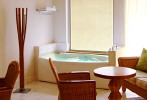 The Jacuzzi Cabana Royal Spa Room at the Le Meridien Hotel Limassol. Click to enlarge this photograph