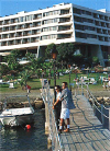 Le Meridien Hotel Limassol with its own pier, click to enlarge this photograph