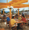 Melissi Beach Hotel Outdoor Restaurant, click to enlarge