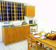 Petrou Bros Hotel Apartments kitchen, click to enlarge this photograph