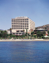 St Raphael Hotel Limassol, set on the Beach near the Clear Blue Seas of Cyprus, click to enlarge this photograph