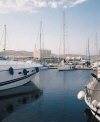 St Raphael Marina at the St Raphael Hotel in Limassol, Cyprus, click to enlarge this photograph