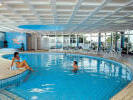 Indoor swimming pool at the Sunrise Beach Hotel