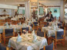 Enjoy speciality meals in the luxurious restaurant at the Sunrise Beach Hotel