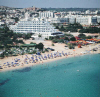 Vrissiana Beach Hotel set on the popular golden sands of Fig Tree Bay in Protaras, click to enlarge this photograph